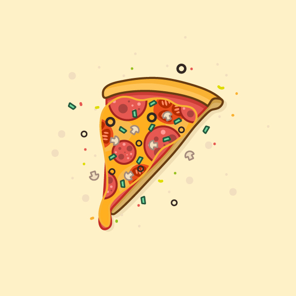 Learn How to Create a Delicious Pizza Slice in Adobe Illustrator Tutorial