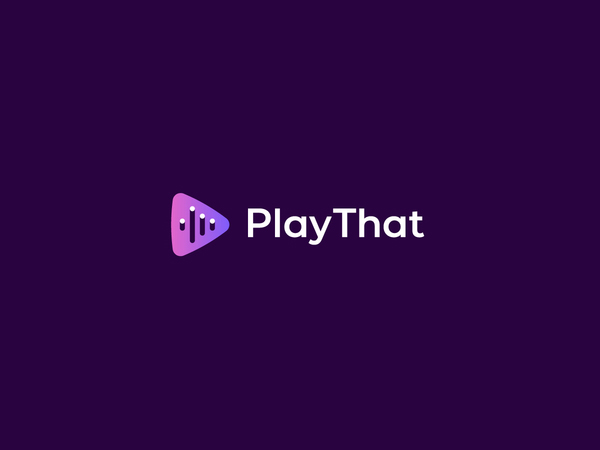 Play That logo by Insigniada - Branding Agency