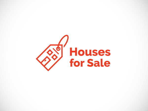 Houses For Sale Logo by Tamara Stantic