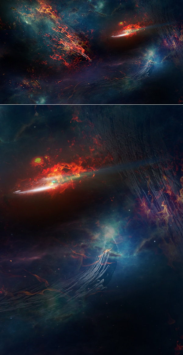 How to Create Epic Deep Space Photo Effect in Photoshop Tutorial