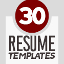 Post Thumbnail of 30 Professional CV / Resume Templates with Cover Letters