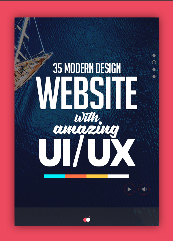 35 Modern Web UI Design Examples with Amazing UX