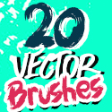 Post thumbnail of 20 New High Quality Vector Illustrator Brushes