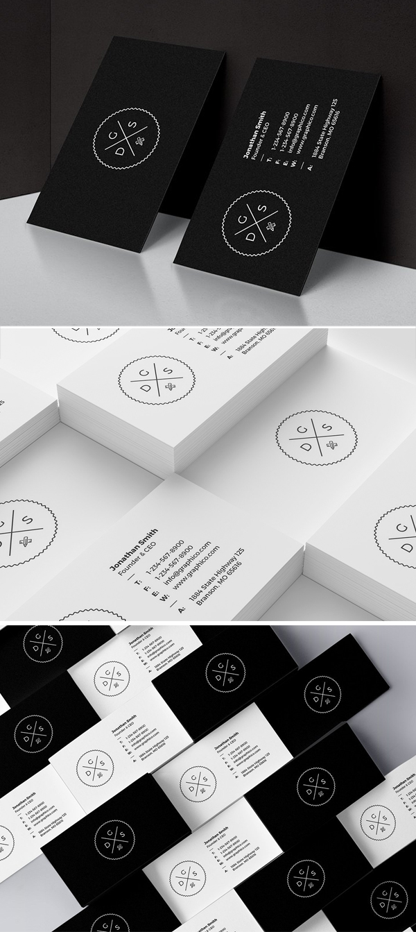 Simple Corporate Minimal Business Card