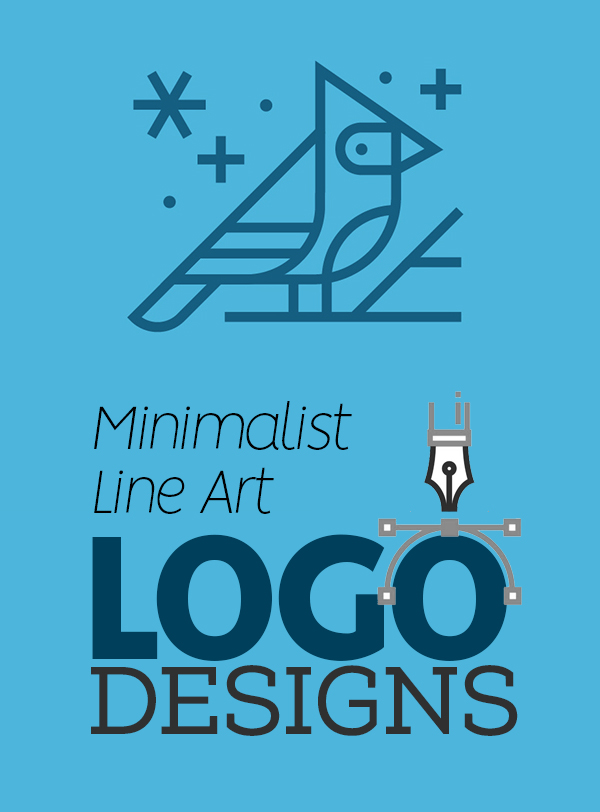 Minimalist Line Art Used in Logo Design – 30 Amazing Concepts and Ideas