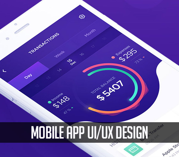 25 Modern Mobile App UI Design with Amazing UX