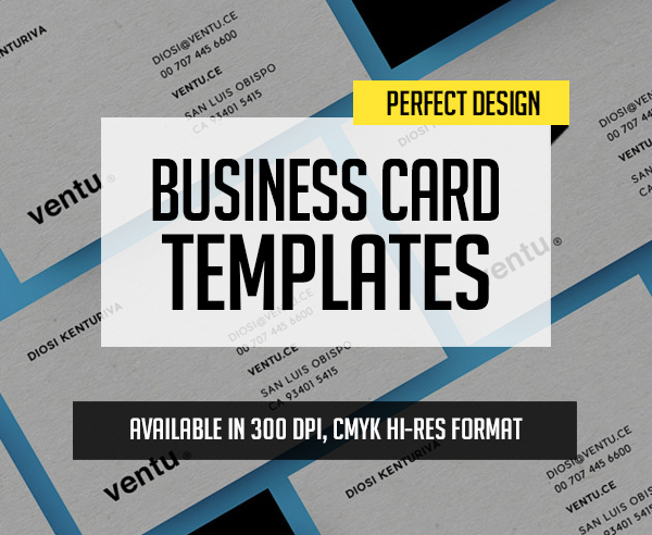 New Perfect Business Cards PSD Templates – 30 Print Design