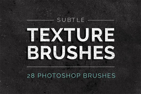 Subtle Texture Photoshop Brushes