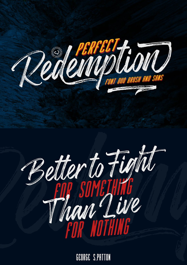 Perfect Redemption Free Font