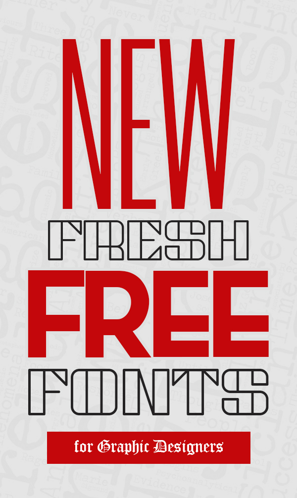 New Fresh Free Fonts Download