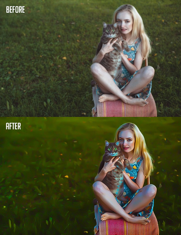 How to Create Super Easy Painterly Effect Trick Using Camera Raw Filter in Photoshop