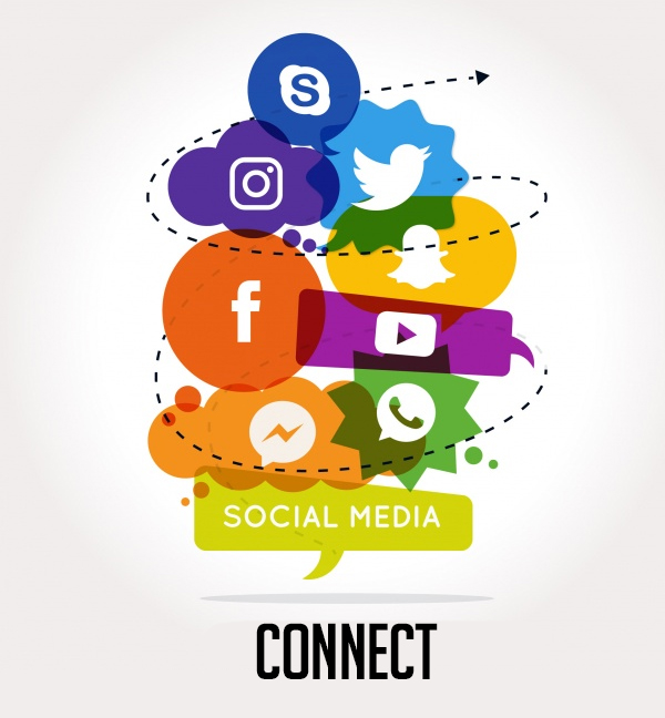 Connect to Social Media