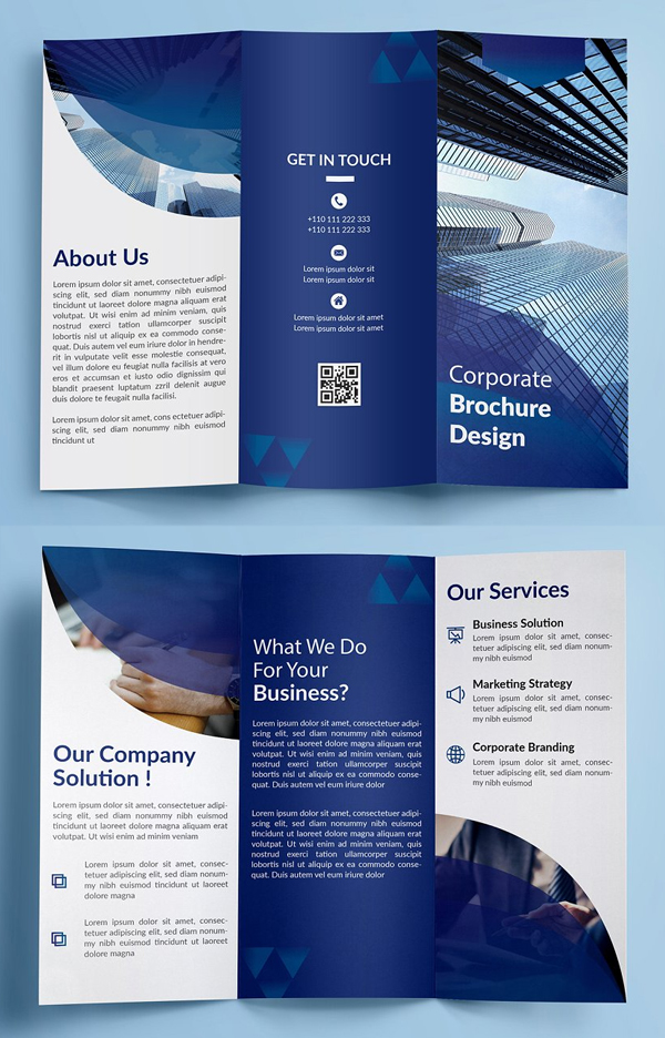 trifold brochure templates