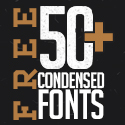 Post thumbnail of 50+ Best Free Condensed Fonts for Designers