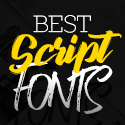 Post Thumbnail of 35 Best Script Fonts