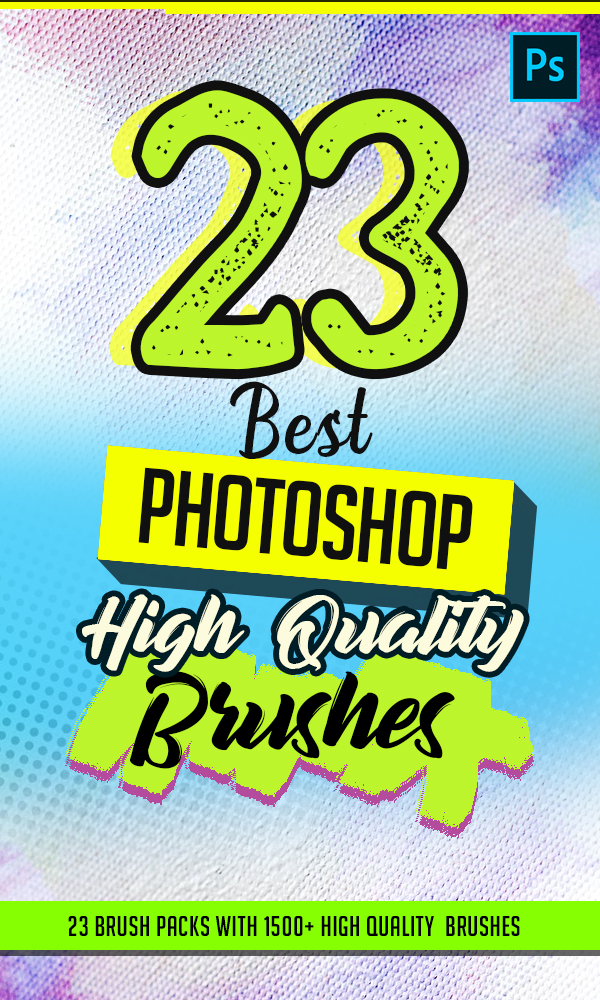 23 Best High Quality Photoshop Brushes