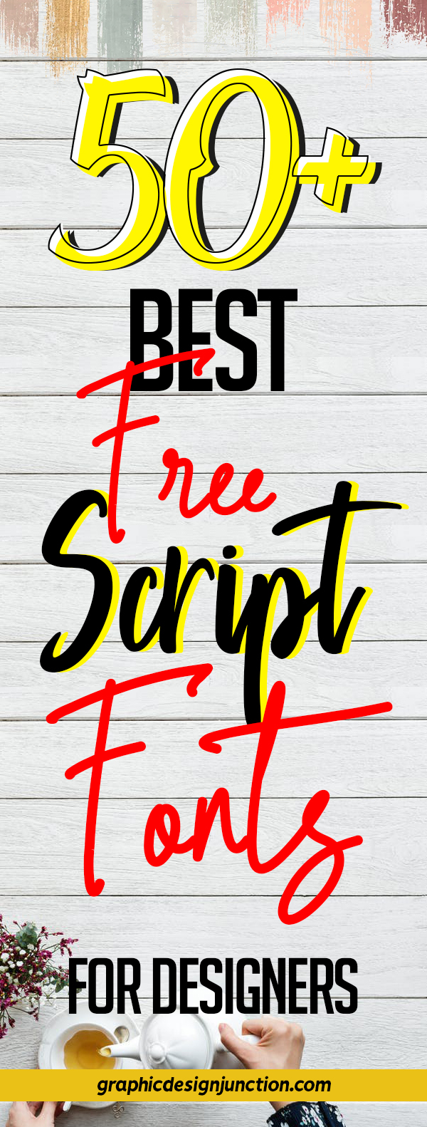 50+ Free Script Fonts for Graphic Designers