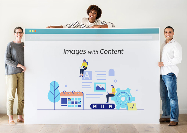 Images with Content
