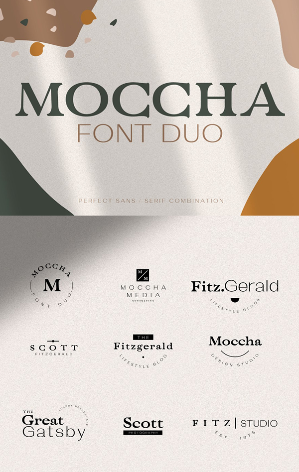 Moccha Free Font Duo
