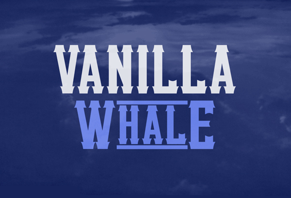 Vanilla Whale Free Font