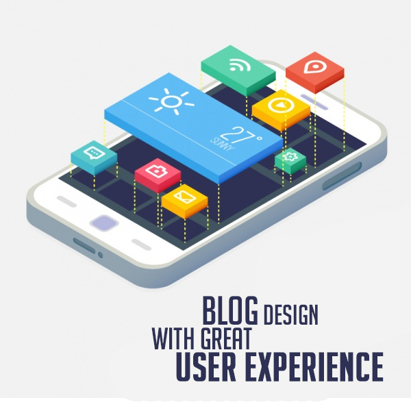Blog design with great UX