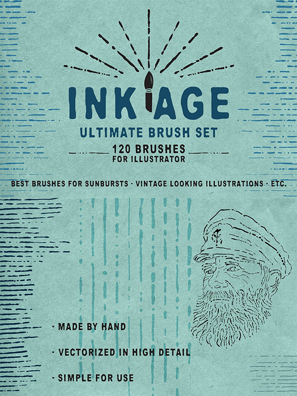 Ink Age Brush Pack