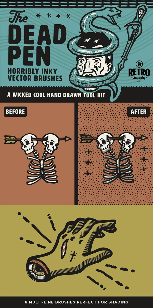 The Dead Pen | Hand Drawn Toolkit