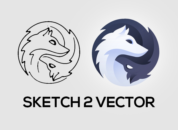 Sketch to vector
