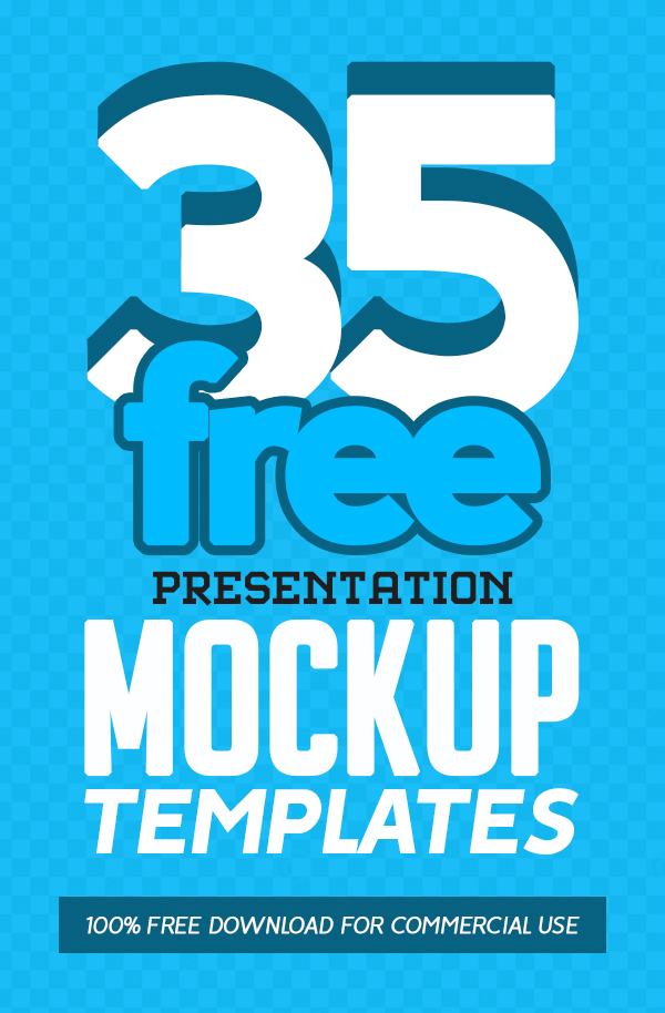 35 Best Free Mockup Templates for Realistic Presentation