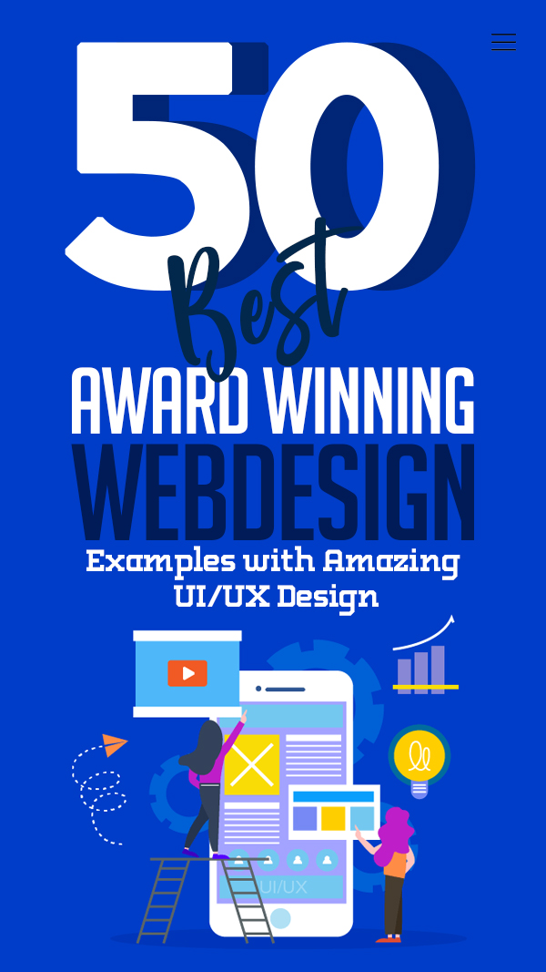 Web Design: 50 Inspiring Website Designs with Amazing UIUX