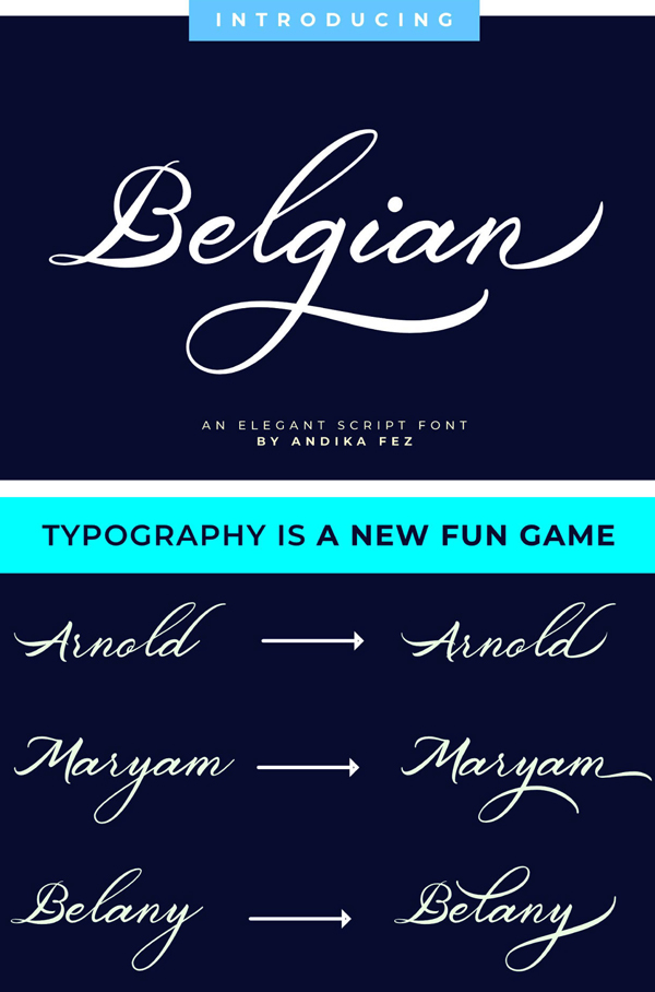 100 Greatest Free Fonts for 2020 - 10