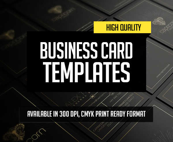 New Creative Business Cards Templates – 27 Print Design