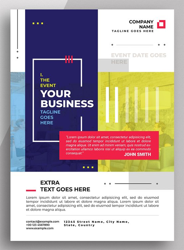 Awesome Corporate Flyer Template