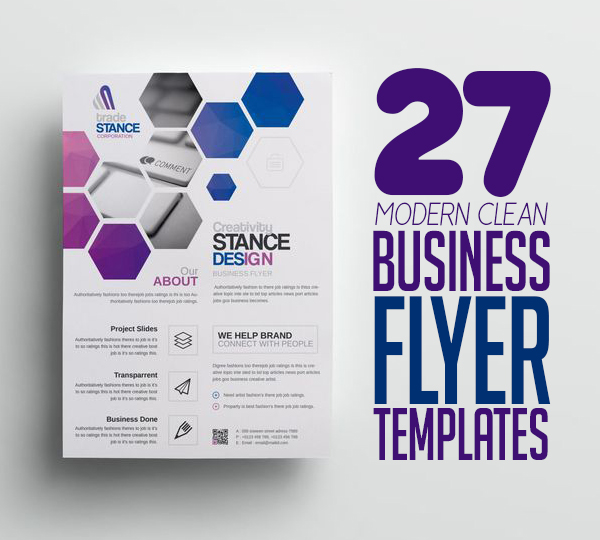 Flyer Templates: 27 Modern Business Flyer Templates