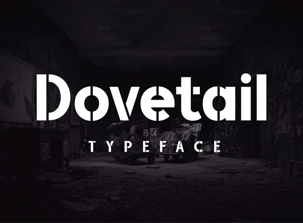 Dovetail Free Font