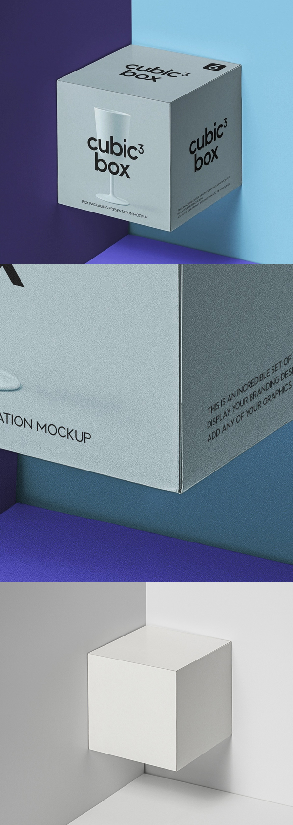 Free Square Psd Product Box model