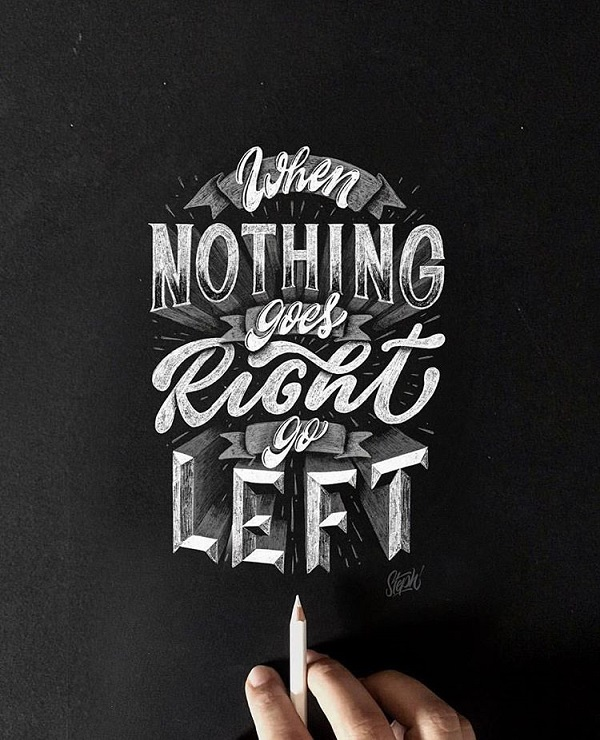45 Remarkable Lettering and Typography Designs for Inspiration - 39