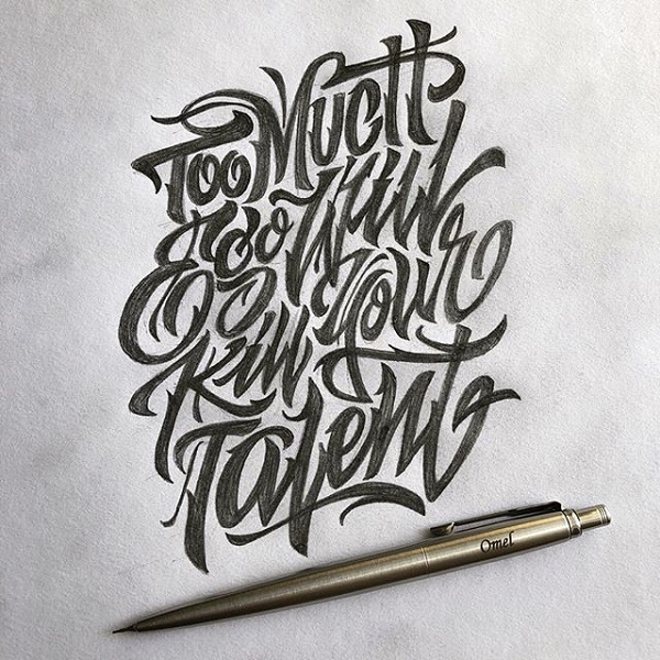 45 Remarkable Lettering and Typography Designs for Inspiration - 5