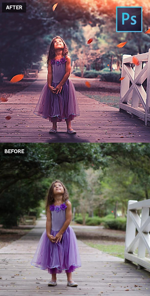 How to Convert Boring Photo into Dazzling Cool Portrait in Photoshop