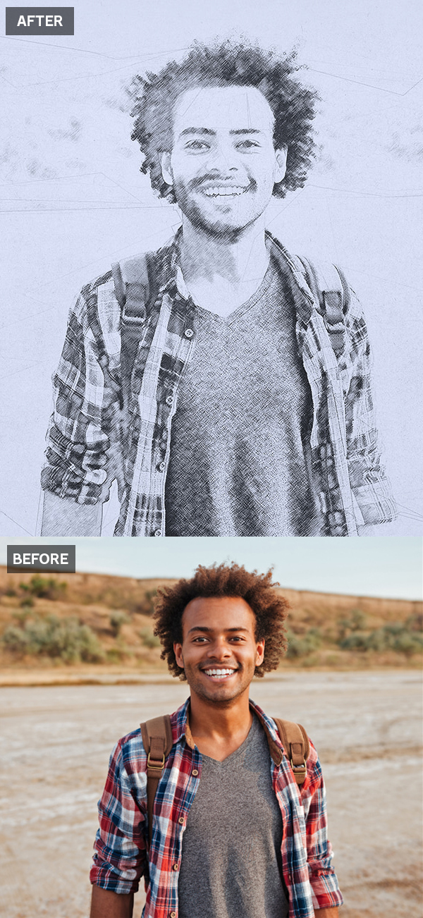 How to Create a Photo to Pencil Drawing Effect in Photoshop