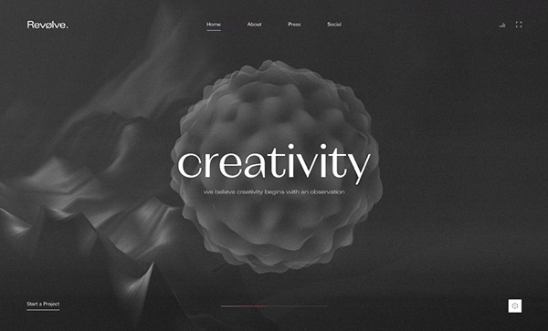Web Design: 50 Inspiring Website Designs with Amazing UIUX - 4