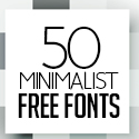 Post thumbnail of 50+ Great Free Fonts for Minimalist Designs