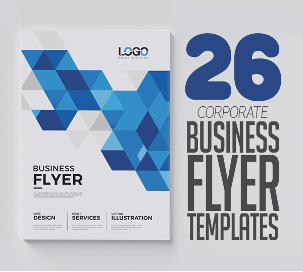 Flyer Templates: 20 Corporate Business Flyer Templates Design