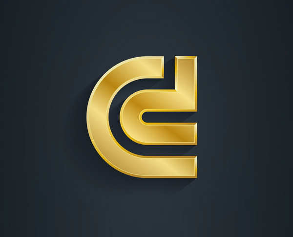 Metallic Logo