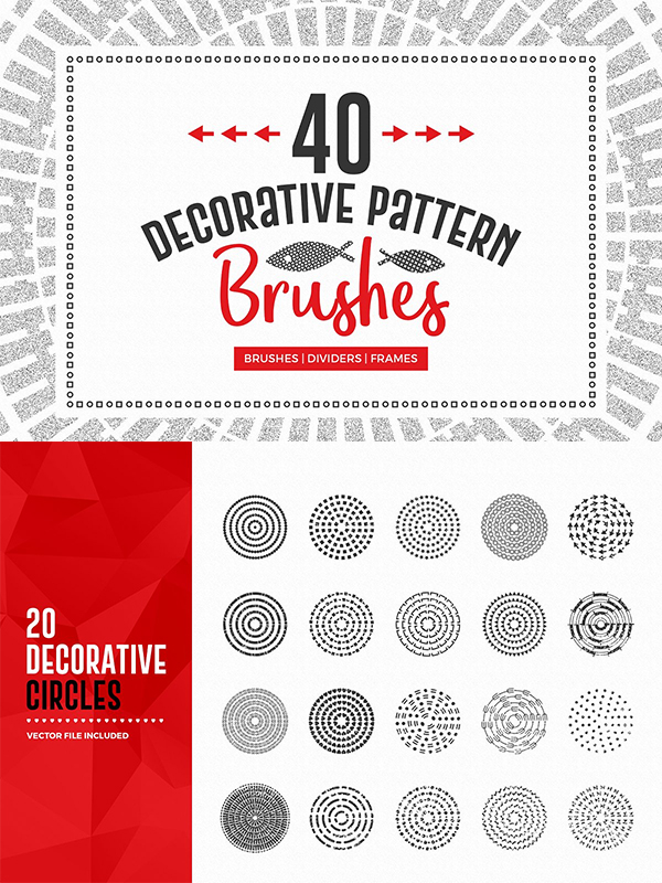 Decorative Pattern Brushes