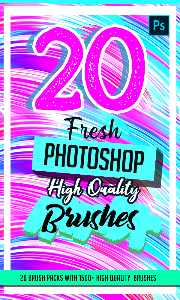 20 Fresh High Quality Photoshop Brushes