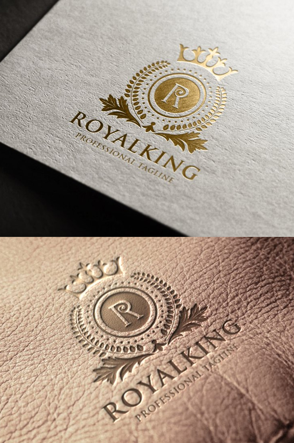 Royal King Letter R Logo - 1