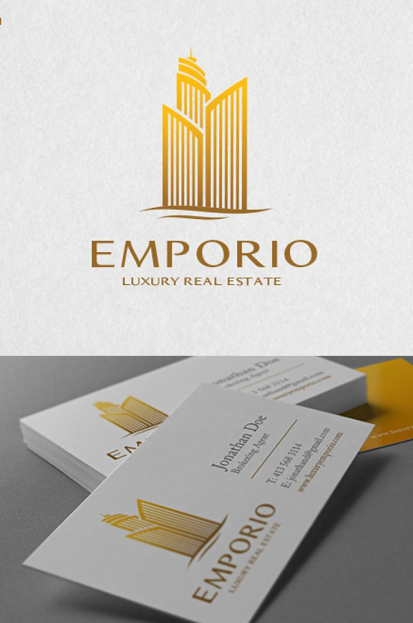 Luxury Real Estate Logo Template - 9