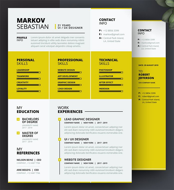 Awesome Resume CV