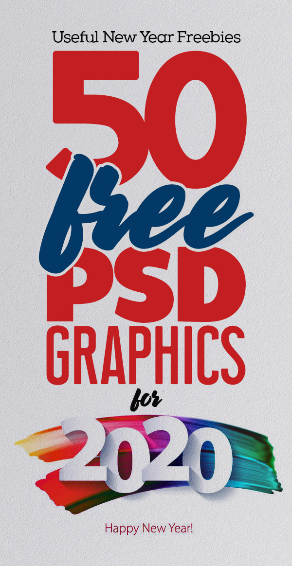 50 Useful Free PSD Files For 2020